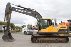 Volvo EC 220 DL +Klima+kom. Hydraulik+ohne Anbaugeräte