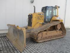 Caterpillar D6N LGP - 6 Wege Schild - Mieten !