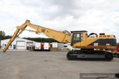 Rupsgraafmachine - Caterpillar 350 L Demolition / Abbruchbagger - 26m