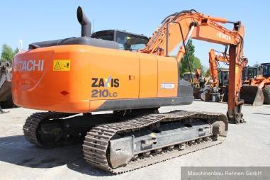 Escavatore cingolato - Hitachi ZX 210 LC-5B + SW + kompl. Hydraulik