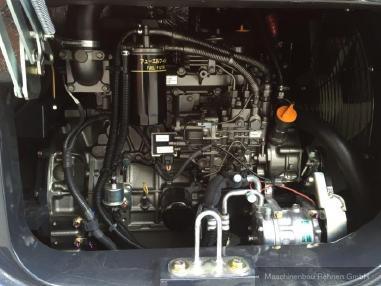 Miniexcavator - Hitachi ZX 65 USB-5A CLR  + Schnellwechsler - 6.160 kg