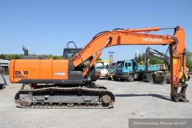 Koparka łańcuchowa - Hitachi ZX 210 LC-5B + SW + kompl. Hydraulik
