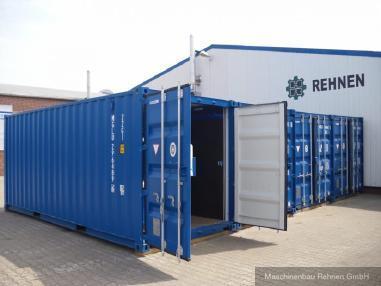 Pozostałe - Pozostałe Werkstattcontainer / Baustellencontainer mit Top