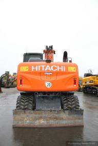 pokretni bager - Hitachi ZX 140 W-5 + Verachtert SW + Verstellausleger