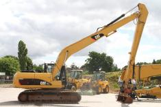 Caterpillar 320D - Long Reach - 15,6m + Hydr. GS