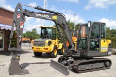 Volvo EC 55 C + Lehnhoff SW + TL - günstig mieten