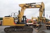 Caterpillar 324 E + OilQuick OQ70 + TL + Verstellausleger
