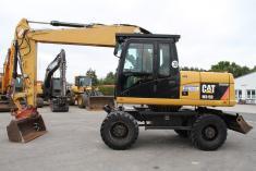 Caterpillar M 315 D + Lehnhoff SW - 30 km/h - 15.900kg