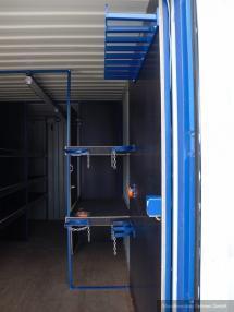 Diğer - Diğer Werkstattcontainer / Baustellencontainer mit Top
