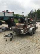 MTH Ehlers Anhänger Minibaggeranhänger 2.000kg