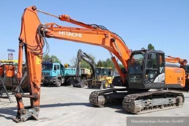 Excavadora de cadenas - Hitachi ZX 210 LC-5B + SW + kompl. Hydraulik