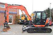 Kubota KX 080 -4 + Powertilt + starre GS - 8.270 kg