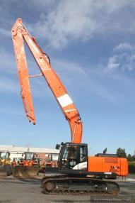 Tracked excavator - Hitachi ZX 250 LC-5B Long Reach + Erdbauausleger