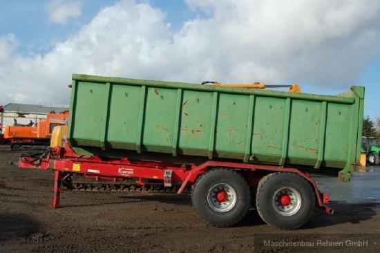 Krampe THL20 Container-Abrollanhänger +2x Cont.