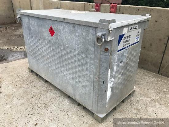 Kraftstoff-Container Quadro -IBC-
