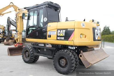 Mobilbagger - Caterpillar M 315 D + Lehnhoff SW - 30 km/h - 15.900kg
