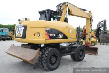 Escavatore gommato - Caterpillar M 315 D + Lehnhoff SW - 30 km/h - 15.900kg