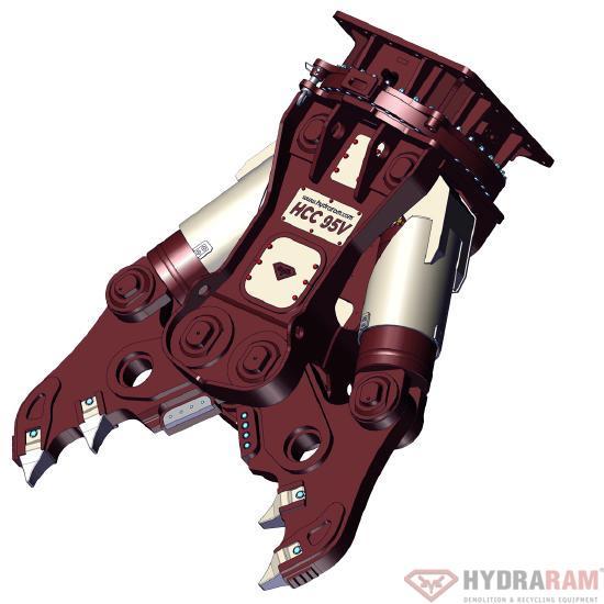 Hydraram HCC-58V | 5440 kg. | 50 ~ 65 t. | Neu!