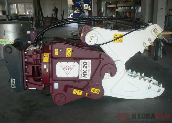 Hydraram MK-15 | 1860 kg | 18 ~ 25 t. | Neu!