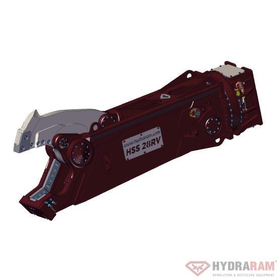 Hydraram HSS-22RV Stahlscheren | 2180 kg | 18~23 t. | Neu!