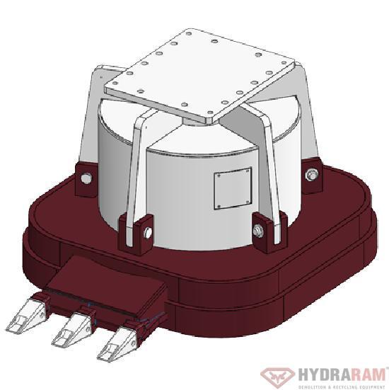 Hydraram HMG-T1500 | 3000 kg | 34 ~ 60 t. | Neu!