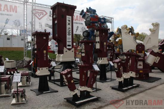 Hydraram FX-120 | 950 kg | 10 ~ 16 t. | Neu!!