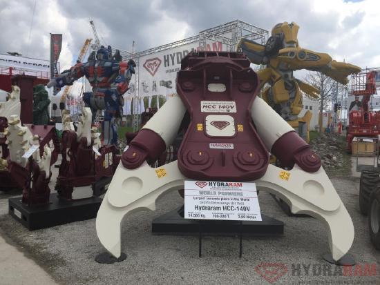 Hydraram HCC-110V | 11940 kg. | 86 ~ 130 t. | Neu!