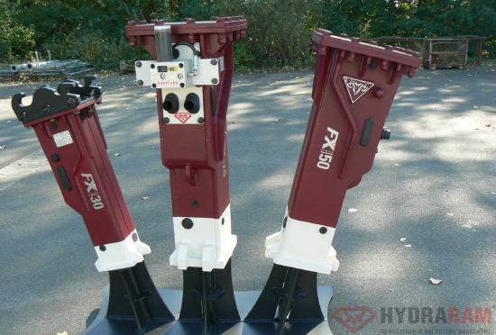 Hydraram FX-40 | 195 kg | 3 ~ 5 t. | Neu!!