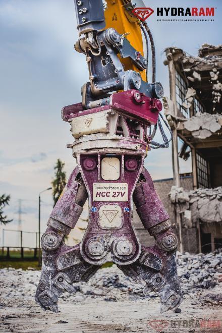 Hydraram HCC-72V | 7140 kg. | 66 ~ 85 t. | Neu!