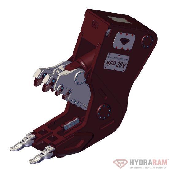 Hydraram HFP-72V | 6980 kg | 65 ~ 85 t. | Neu!