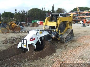 挖沟机 - Simex T300- T800 Fräsrad/ Wheelsaw