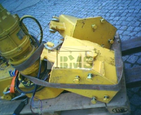 Potain Kranfahrwerk für POTAIN GTMR 331/336