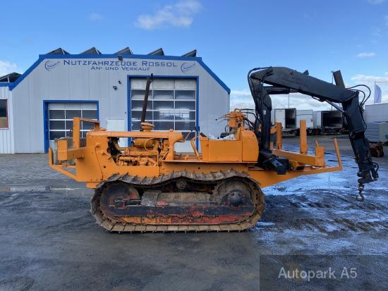 Caterpillar D Raupe Rohrverleger Kette Hiab Speed Loader
