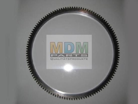 Zahnkranz NEU für Hanomag Motoren D100 + D900 Flywheel ring gear NEW for Hanomag engines D131, 132, 141, 142 + D943, 944T, D963, D964T...