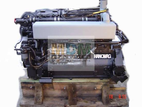 Motor im Tausch für Hanomag Radlader 55D Super