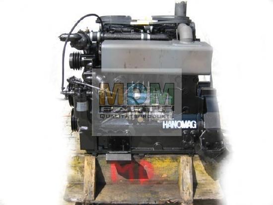 Motor im Tausch für Hanomag Radlader 44C / B11c