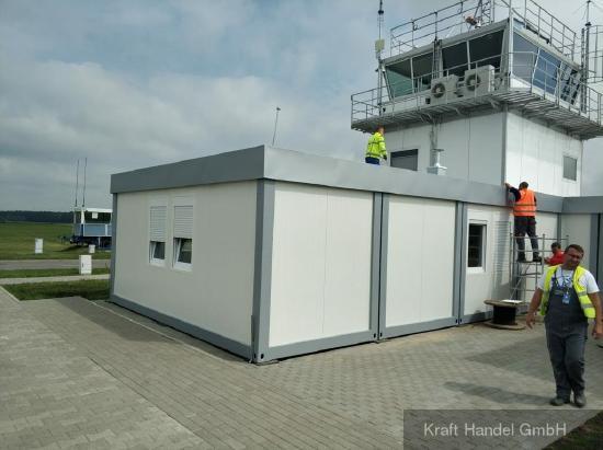 Kraft Containeranlagen, Klassenraum, Büro, Praxis, Imbiss, Mannschaftsraum, Verkaufsraum, Bürocontainer