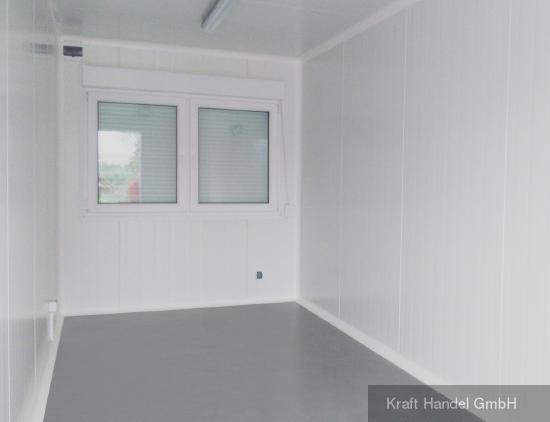 Kraft Standardcontainer mit Doppelfenster.