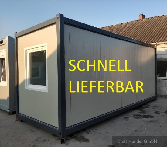 Kraft Bürocontainer Baucontainer ab 95,- € p.M.