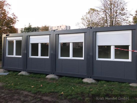 Kraft Containeranlagen, Klassenraum, Aufenthaltsraum,