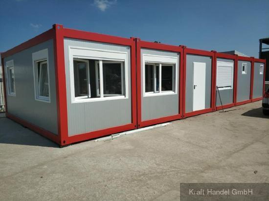 Kraft Wohncontainer Unterkunft Wohnung Containeranlage Haus Ferienwohnung Handwerkerunterkunft Studentenwohnung