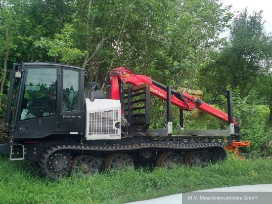 Prinoth Panther T8 Forwarder