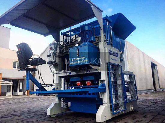 SVP-533 Movable Egg Layer Block Machine METALIKA