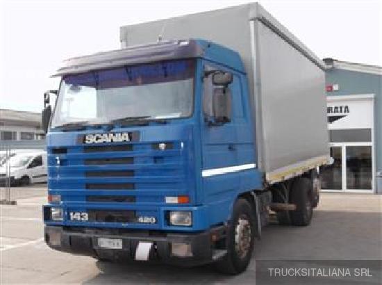 Scania CV R 143 HL 6X2 420 HIGH LINE