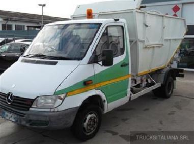komunalno vozilo - Mercedes Benz SPRINTER 413 CDI T46 PTT GUIDA DX