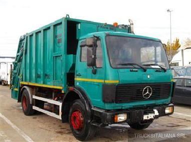 Atık aracı - Mercedes Benz 1620 SK