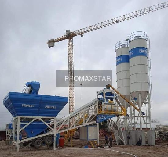 Promax МОБИЛЬНЫЙ БЕТОННЫЙ ЗАВОД M120-TWN(120m³/h)