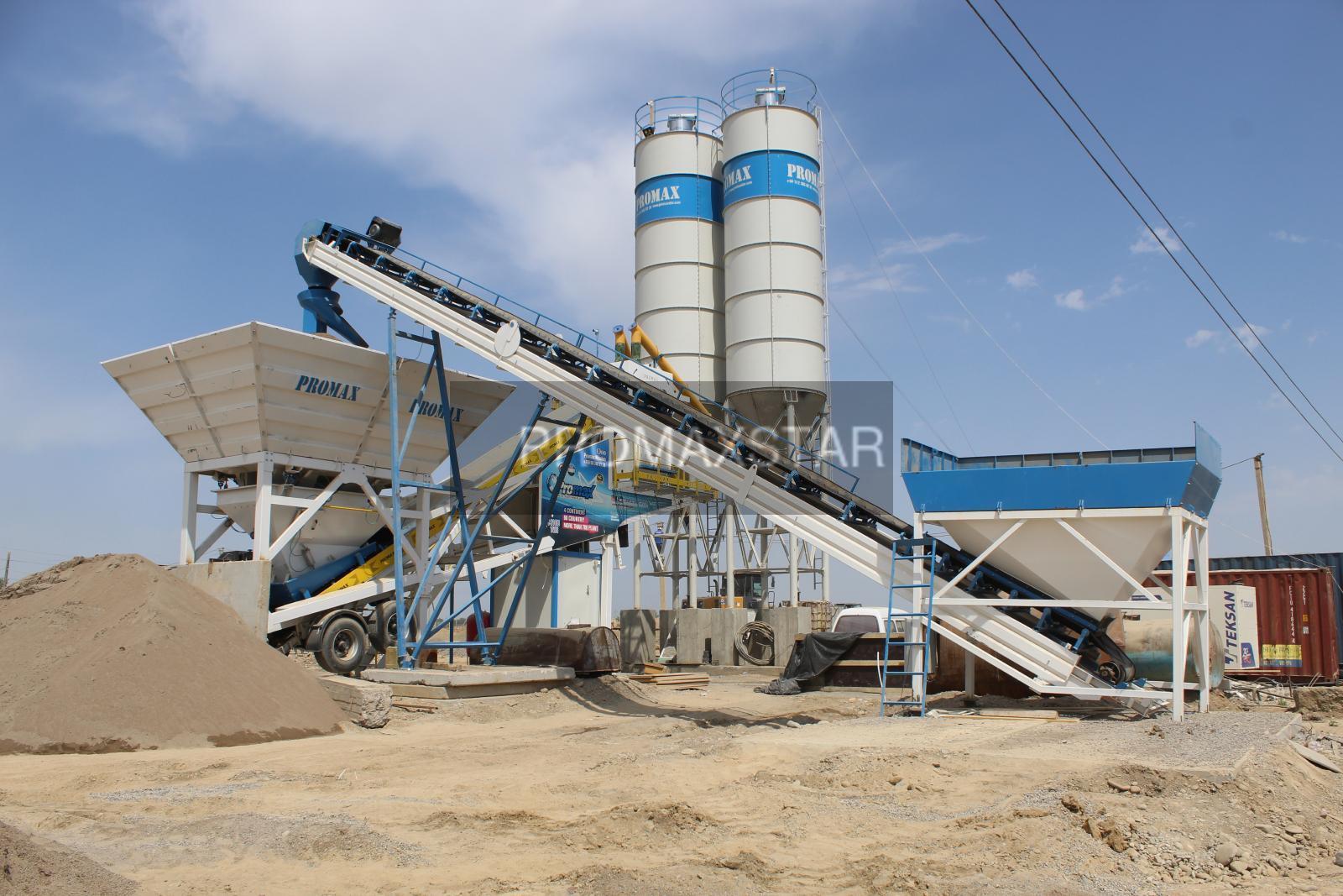 HZS90 Concrete Batching Plant, JS1500 Concrete Mixing