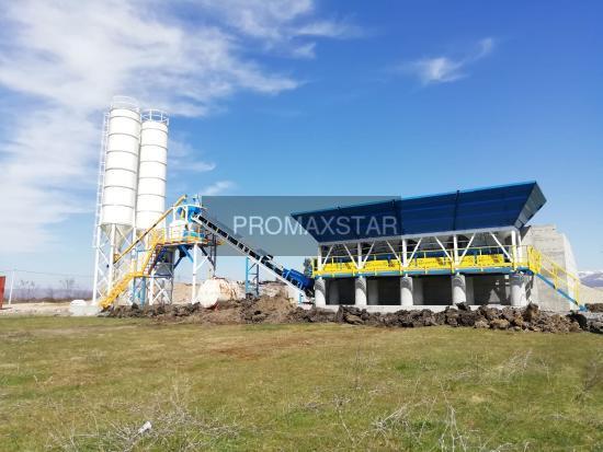 Promax КОМПАКТНЫЙ БЕТОННЫЙ ЗАВОД C60-SNG L (60m³/h)