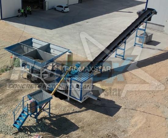 Promax Mobile Concrete Batching Plant PROMAX M35 PLNT